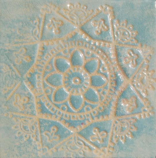 Stern Weiß Hellblau