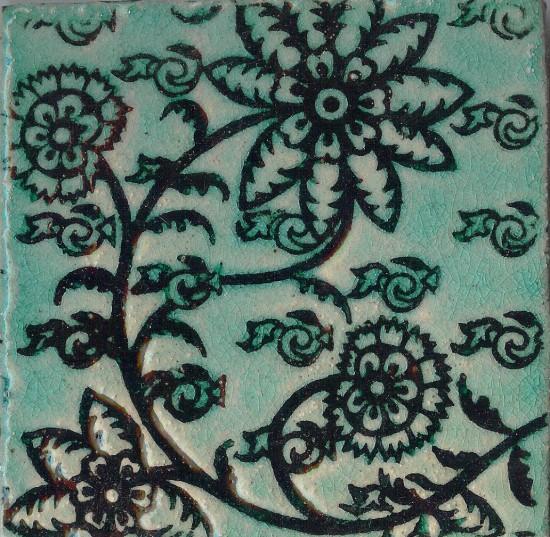 Delftblüten, blautopas