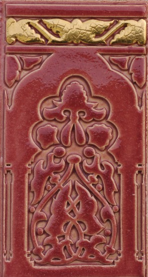 Orienttor, rot