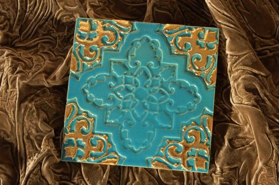 Orientstern türkis-gold