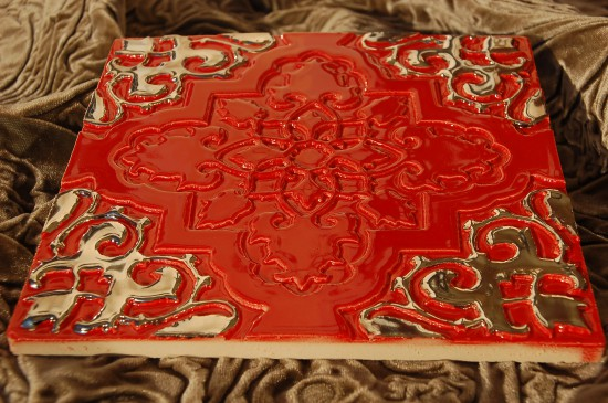 Orientstern rot-gold