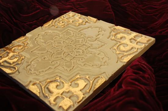 Orientstern schiefer hell gold