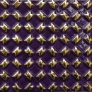 Diagonal violett gold