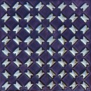 Diagonal violett-silber