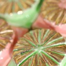 Schnecken Pistachio Strawberry Gold