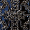 Lesath, schwarz-silber