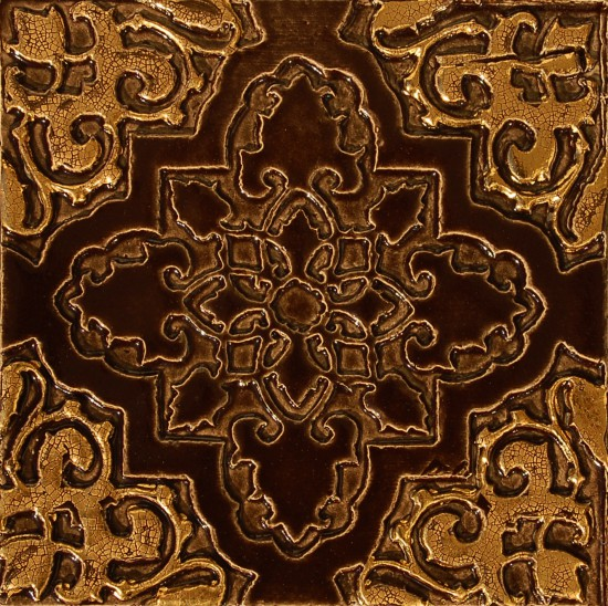 Orientstern, schoko-gold