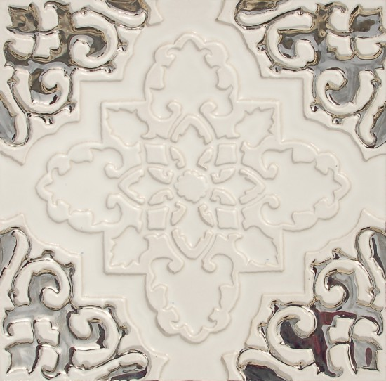 Orientstern, weiss-silber