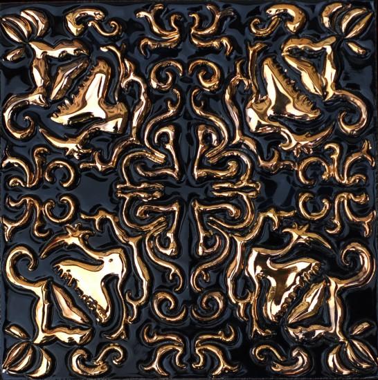 Mira, schwarz-gold