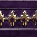 Aixa large, violett-gold