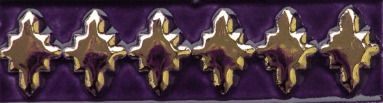 Aixa small, violett gold