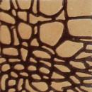 Alligator, braun-rosenholz