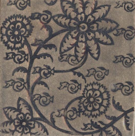 Delftblüte, schwarz-schiefer
