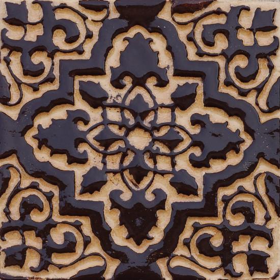 Orientstern, mocca-rosenholz