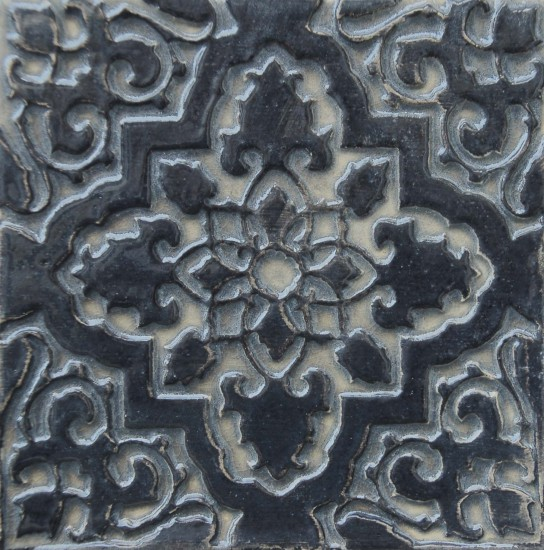 Orientstern, schwarz silber