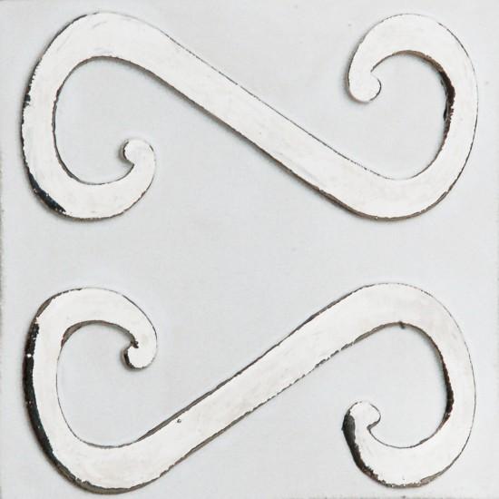 Harfe Weiß Silber