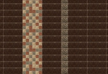 Wall Africa Alligator Brown Stone