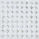Diagonal Weiß Silber