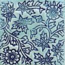 Blüte Blau Türkis