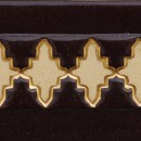 Aixa large Schoko Rosenholz Gold