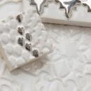 Aixa small, Cobra, Orientstern Weiß Silber