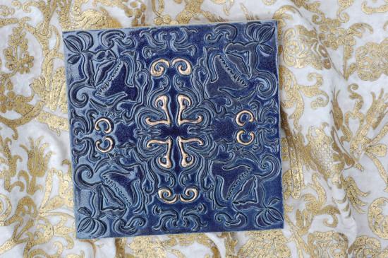 Mira Nachtblau Silber