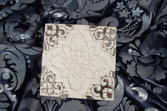 Orientstern Weiß Silber
